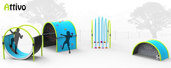 Attivo - Playground Equipment by John Ditchburn