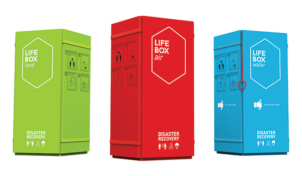 Life Box – Rapid-response Disaster Recovery Box by Adem Onalan