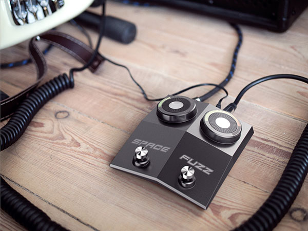 SpaceFuzz - Guitar Effect Pedal by Esben Oxholm