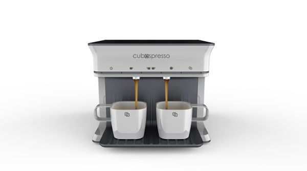 Cubespresso - Coffee Maker by David Huang