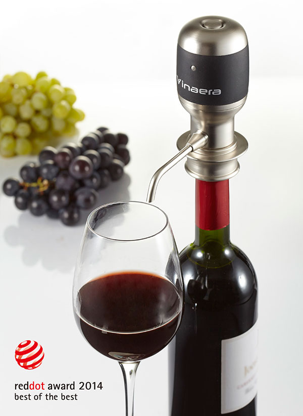 Vinaera Electronic Wine & Spirit Aerator by Mercuries Asia Ltd.