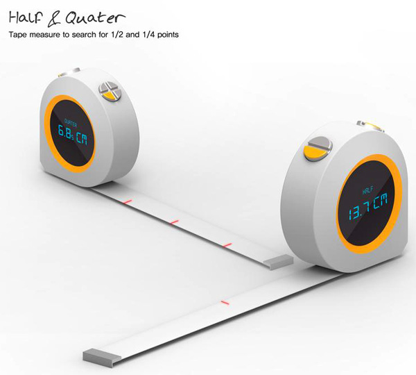 Half & Quarter – Measuring Tape by Hoe Yeong Jung