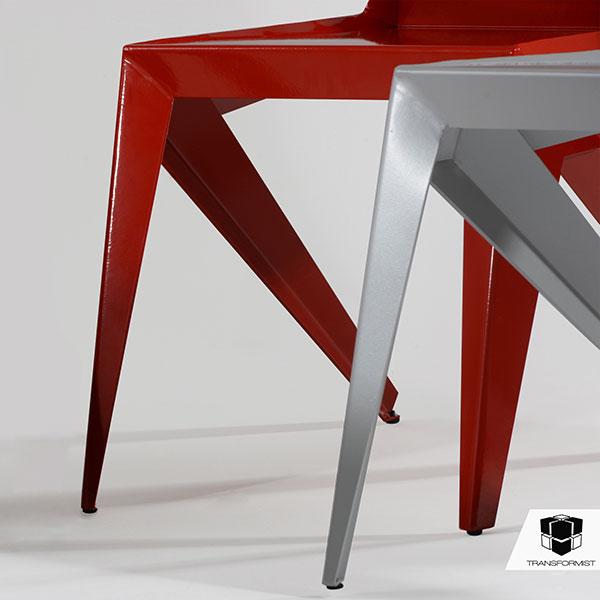 Sleek and Stealthy Seating