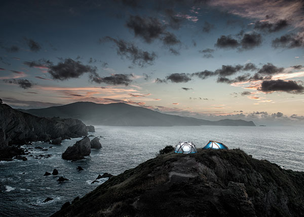 The Cave / The Wedge / Mavericks - Tents by Frackenpohl Poulheim for Heimplanet