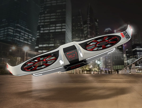 Delivery Drone Concept by WiGL Design