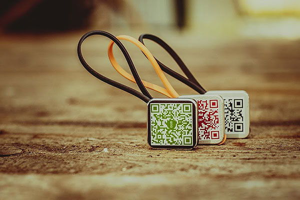Talisman QR Code Keychain by aiia