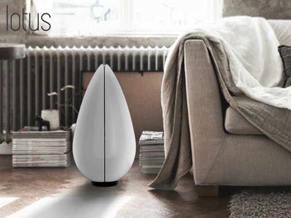 Lotus Air Purifier by Fulden Dehneli