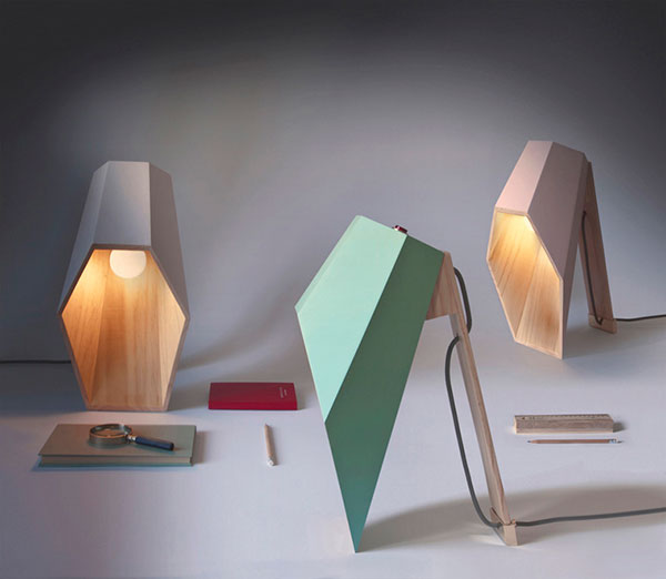 Woodspot - Table Lamp by Alessandro Zambelli for Seletti