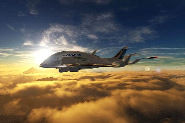 GIGAbay - Concept Cargo Plane by Oscar Viñals
