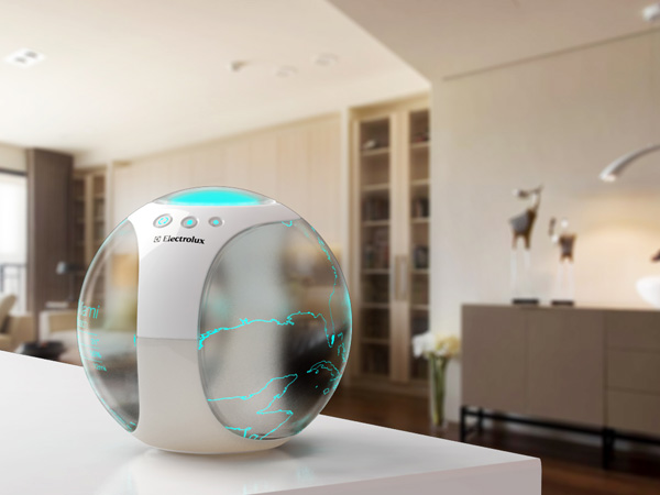 Air Globe – Air Purifier and Climate Simulator by Pei-Chih Deng