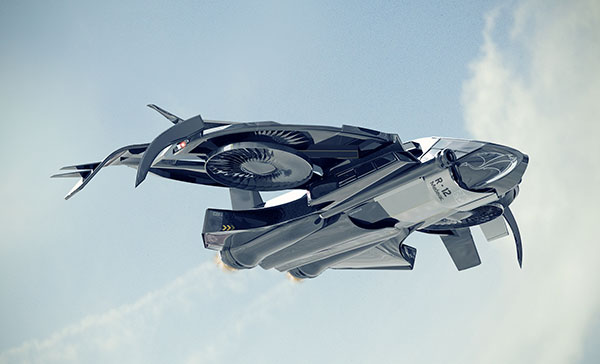 Sting R12 Aviation Concept by Ramees Muhammed