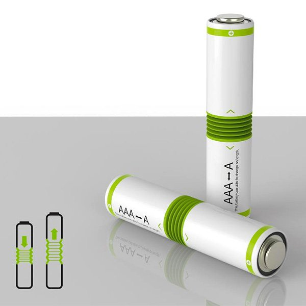Fit In Battery – Battery Design by Kim Tae Heon