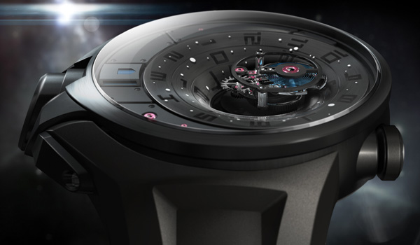Tourbillon Black Hole Concept Watch by Thierry Fischer