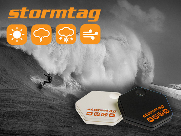 StormTag – Weather Tracking Device by Jon Atherton