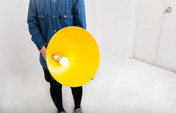 Peaked Hat Lighting Shade by Moili