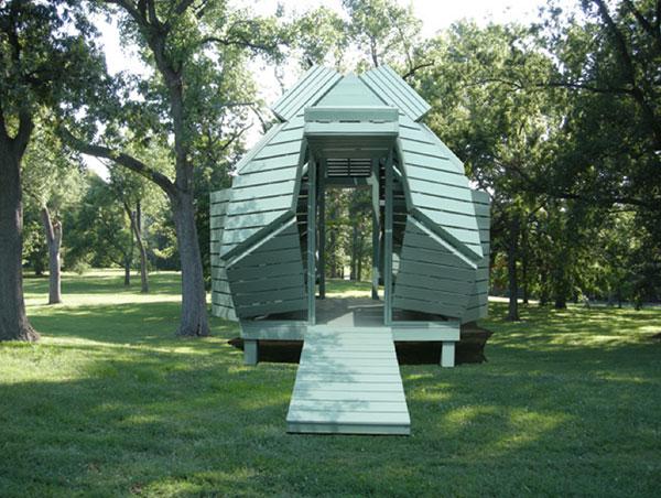 M-velope - Outdoor Structure by Michael Jantzen