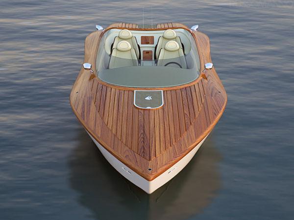 Raceline 26' Powerboat Concept by Pietro Russomanno