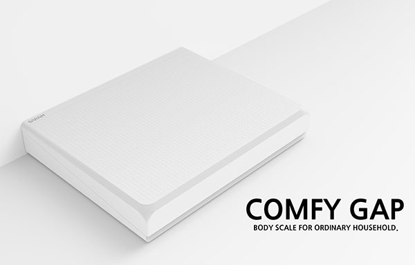 Comfy Gap - Body Weight Scale by Youngkwang Cho