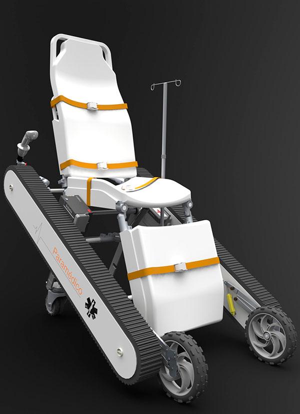 Paramedic Chair by Mauricio Ercoli