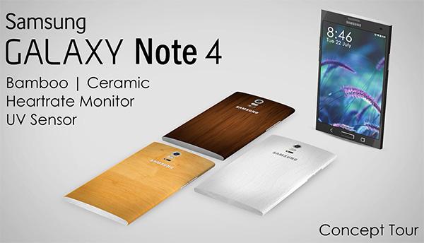 Samsung Galaxy Note 4 Concept by Vishal Bhanushali