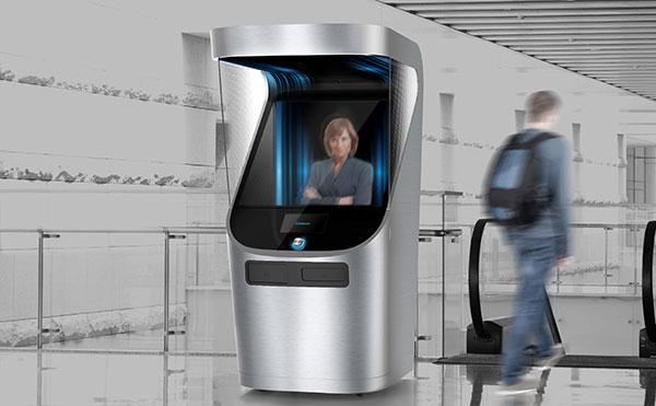 iContact.io - 3D Customer Service Representative by Begüm Tomruk