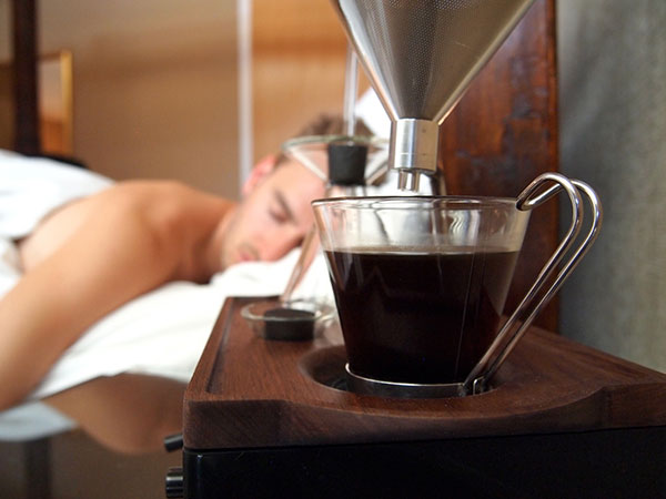 Barisieur - Coffee Maker/Alarm Clock by Joshua Renouf
