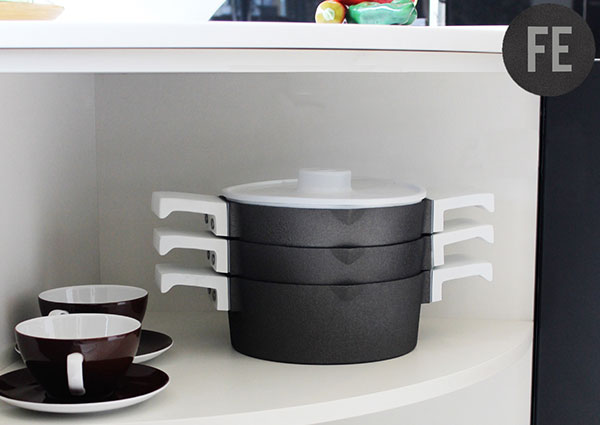Contemporary Cast Iron Cookware by Joshua Court