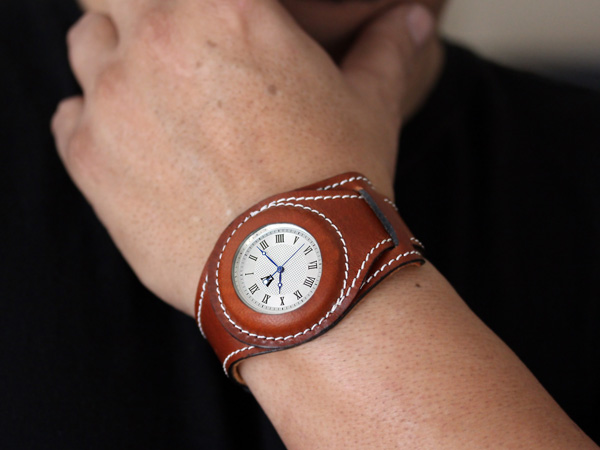 Wristlet Watch by Waves Design Studio