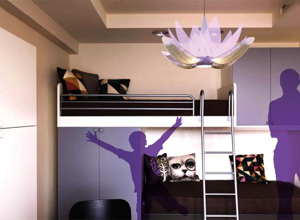 Lotus Flow Air Purification and Lighting System by Rodrigo Capati