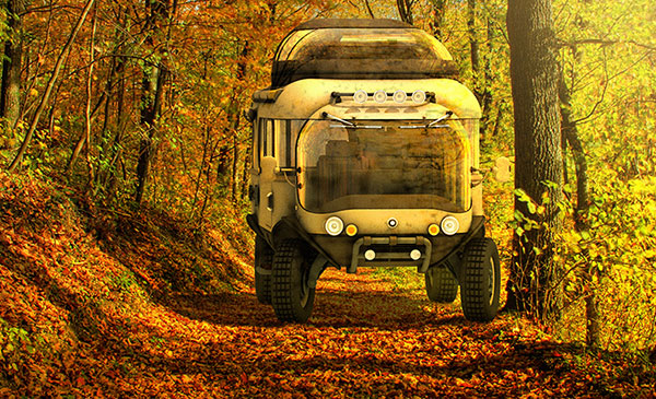 Troy - Concept Expedition Vehicle by Eduardo Galvani