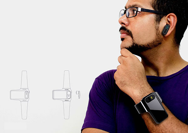HOLLA - Wearable Interactive Device by Mithun Darji
