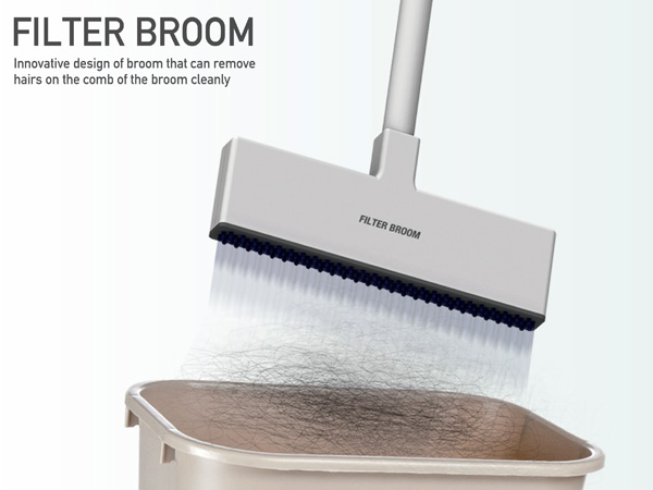 Filter Broom by Wonkyung Jang & Jaehyo Lee