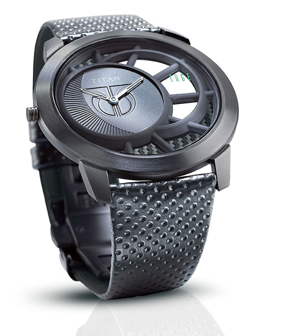 The Titanium Edge - Wristwatch by Sanil Dhadwal
