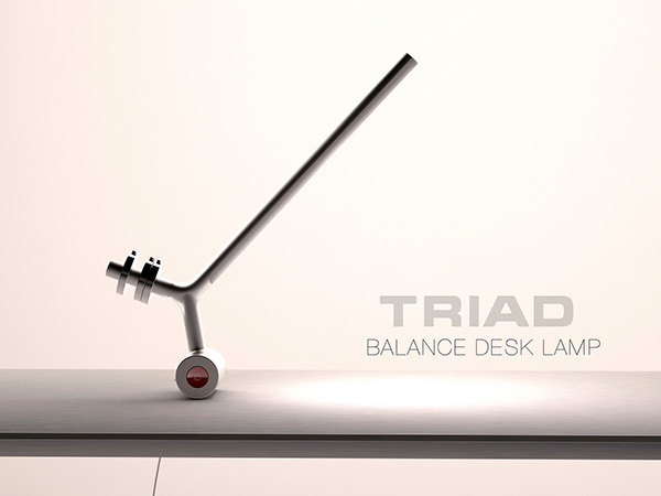 Triad - Desk Lamp by Fyodor Lazariev
