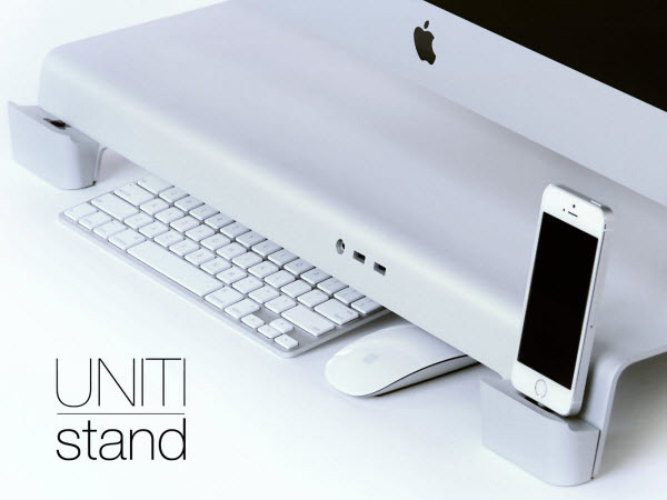 UNITI Stand for Apple iMac and Thunderbolt by iForte