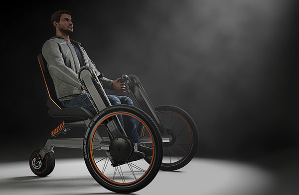 eV Electric Wheelchair by Andreas Bhend
