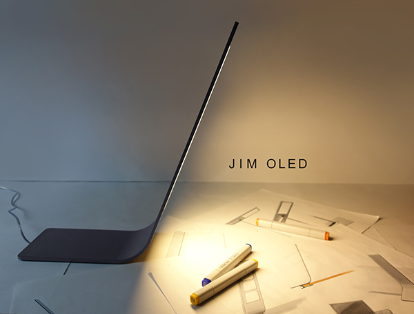 JIM OLED - Lamp by Olga Kalugina