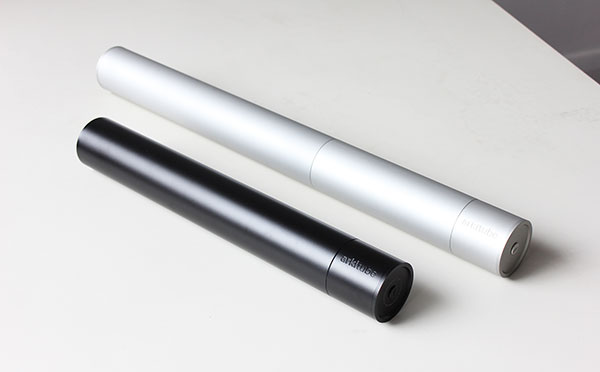 Arkitube - Aluminium Presentation Tube by Jon Liow