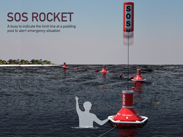 SOS Rocket – Emergency Buoy by Wonkyung Jang and Jaehyo Lee