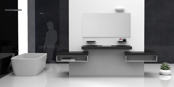Balans Bathroom Vanity Unit by Queena Le
