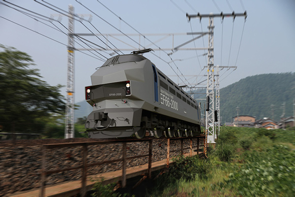 EF-66-2000 - Electric Locomotive Concept by Masahiro Minami