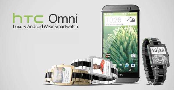 HTC Omni Smartwatch by Vishal Bhanushali
