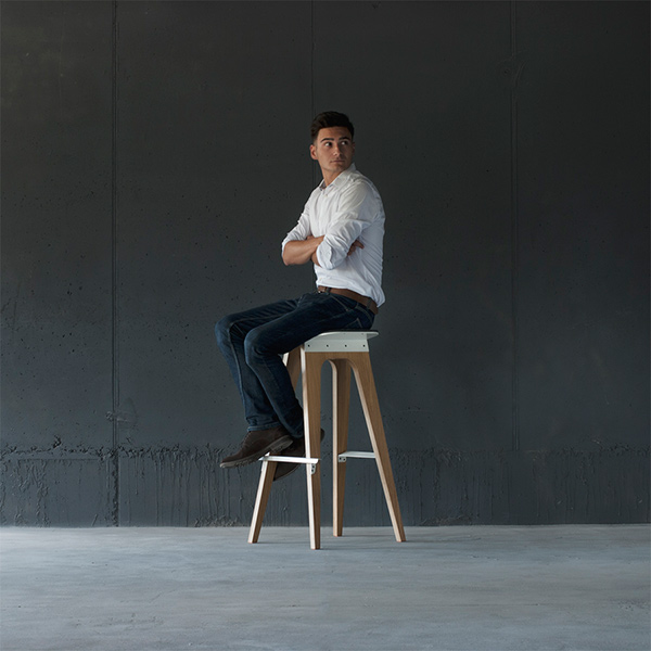 C5 Bar Stool by OEDESD2