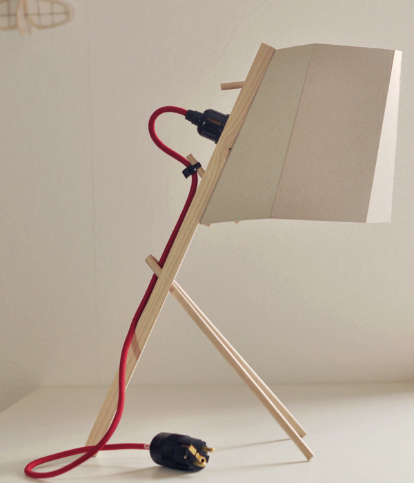 Muchen Lamp – DIY Lamp by Hong-sheng Chen