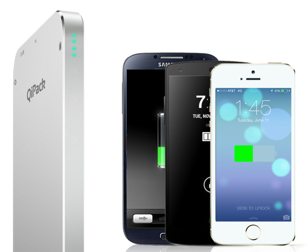 QiPack – Wireless Charging Qi Device by Wireless Efficiency