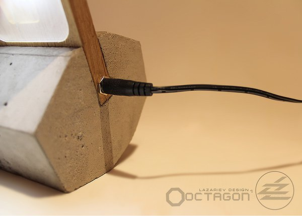 Octagon-1 - Desk Lamp by Fyodor Lazariev