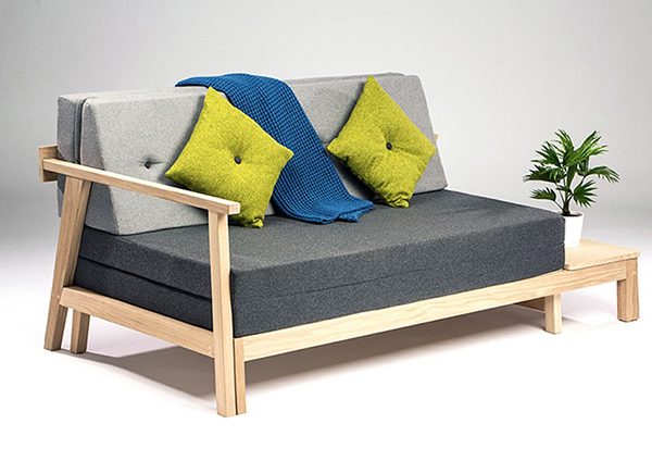 Compact Sofa Bed by Matthew Lewis Hill