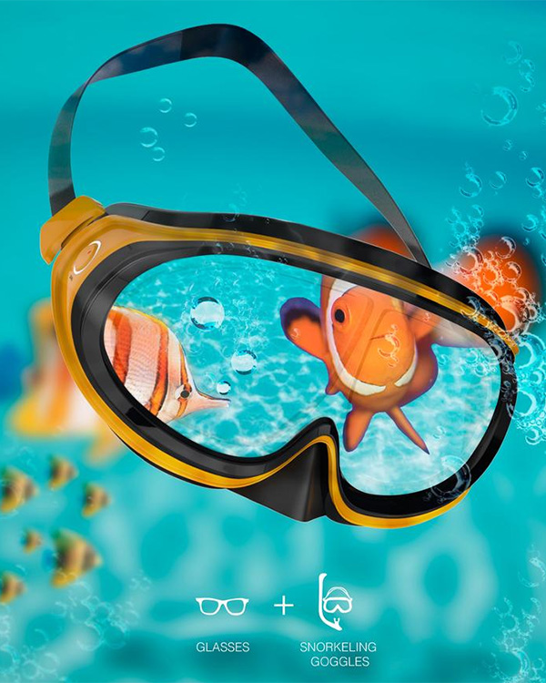 Control Your Sight – Snorkeling Glasses by Yootaek Jung