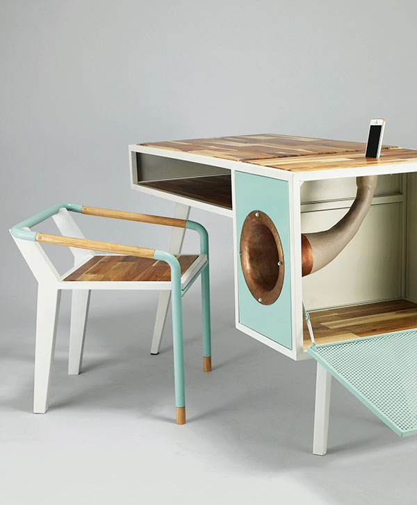 A Different Desk from the Rest