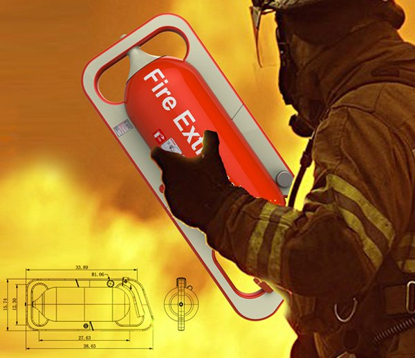 Liteon LBS Portable Fire Extinguisher by Shao-Feng Wang
